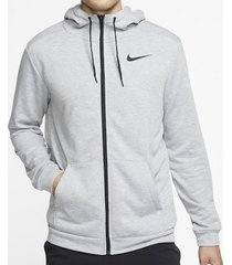 sueter nike dry fleece - blanco