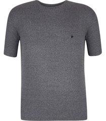 camiseta plus size preto vintage win - kanui
