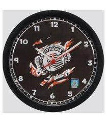relógio de parede corinthians raça corinthiana