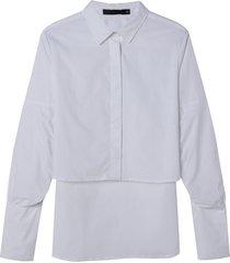 camisa mullet (branco, gg)
