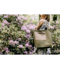 marmollada - torebka bawełniana tl zielona