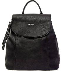 mochila negra tropea aura