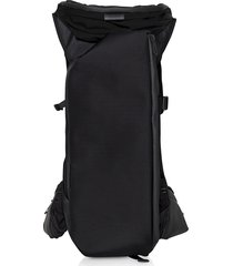 côte & ciel designer men's bags, ashokan black ballistic nylon backpack