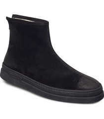 cloyd mid zip boot shoes boots winter boots svart gant