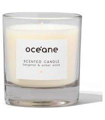 vela perfumada oceane - bergamota e âmbar único