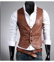 men's leather western vest/jacket, mens vest