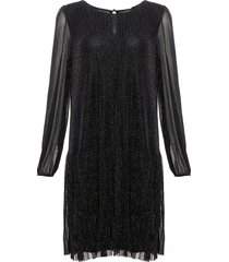 noella dagmar dress black lurex