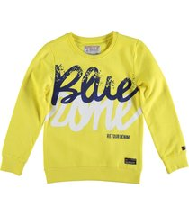 retour zachte sweater bright yellow