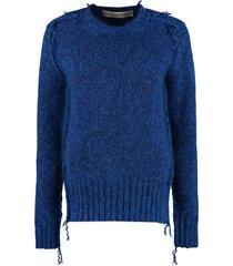 golden goose annamaria long sleeve crew-neck sweater