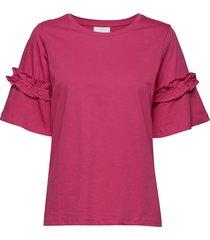 vicky t-shirt- min 3 blouses short-sleeved rosa kaffe