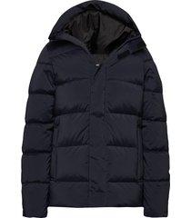 barrell stretch down jacket gevoerd jack blauw j. lindeberg