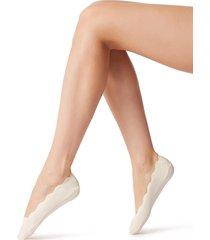 calzedonia - no show socks, one size, white (avorio) , women