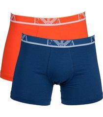 armani boxershort ea 2-pak oranje-blauw