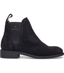 ainsley chelsea shoes chelsea boots svart gant