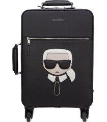 karl lagerfeld k/ikonik suitcase