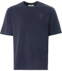 ami de coeur deco t-shirt | navy | e21hj128.726 410
