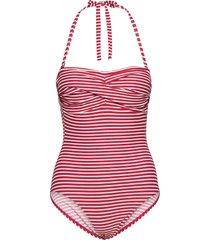 swimsuits baddräkt badkläder röd esprit bodywear women