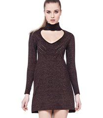 sukienka metaliczna