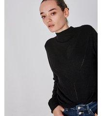 sweater negro portsaid lurex minogue