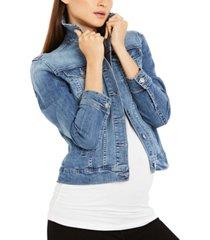 joe's jeans maternity denim jacket