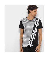 camiseta polo rg 518 listrada logo masculina