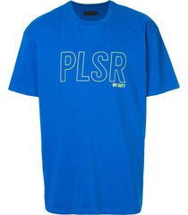 off duty 'pleasure before business' t-shirt - blue