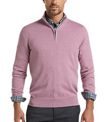 joseph abboud berry modern fit 1/4 zip sweater