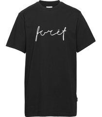 slope t-shirt t-shirts short-sleeved svart forét