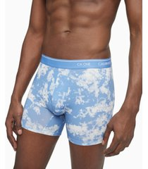 calvin klein men's ck1 festival printed cotton boxer briefs