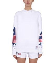 autry crew neck sweatshirt