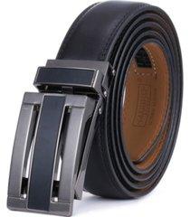 mio marino men's linxx designer ratchet leather belt