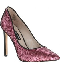 zapato tatiana10 lentejuelas rosadas mujer nine west