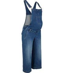 salopette prémaman di jeans stile culotte (blu) - bpc bonprix collection