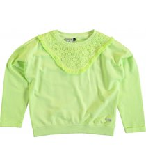 retour sweater neon lemonade