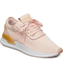 u_path x w låga sneakers rosa adidas originals