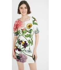 slim short dress puffed sleeves - material finishes - xl