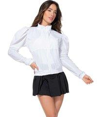chaqueta poliéster talla única ¡precio especial!-2 blanco 95083