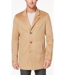 calvin klein men's slim-fit overcoat