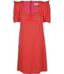 kenzo red mini dress