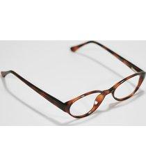 fossil dark tortoise shell plastic flex hinged eyeglass sunglass frames