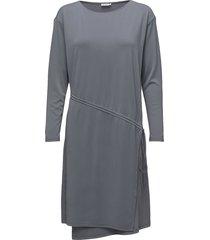 drawstring wrap jersey dress knälång klänning grå filippa k
