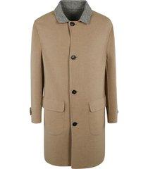 brunello cucinelli reversible buttoned coat