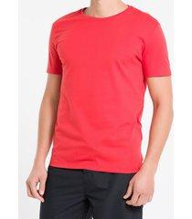 camiseta mc slim logo meia rolo gc swim - vermelho - gg
