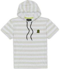 reason men's break time stripe hoodie