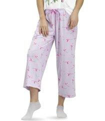 women's flamingo flight classic pajama capri
