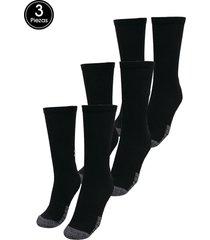 calcetines training under armour ua heatgear crew-blk black