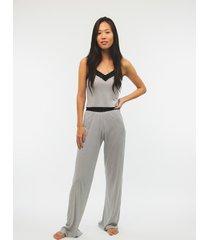 pijama lace longo branco - kanui