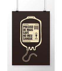 poster bolsa de café