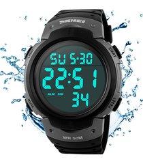 reloj hombre deportivo skmei contra agua numeros grandes