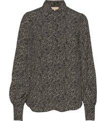 lilac shirt blouse lange mouwen multi/patroon by ti mo